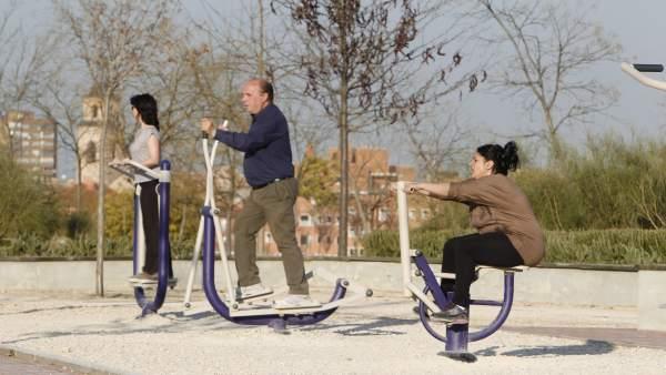 Parques deportivos para mayores