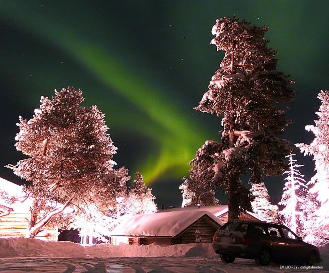 Imágenes de Auroras Boreales tomadas en Laponia 51310-663-550
