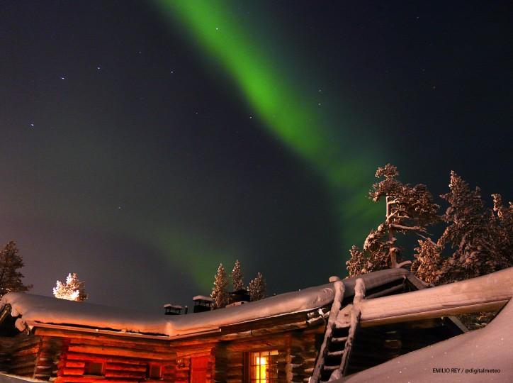 Imágenes de Auroras Boreales tomadas en Laponia 51312-724-540