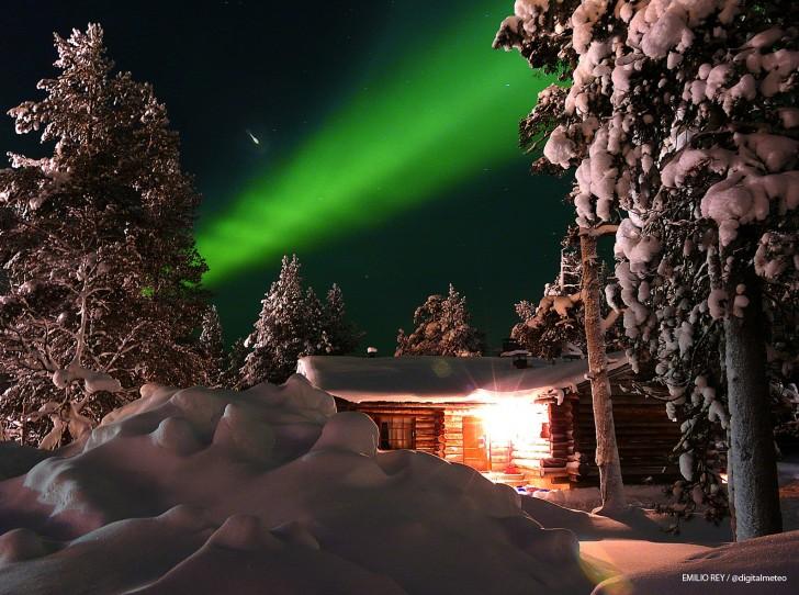 Imágenes de Auroras Boreales tomadas en Laponia 51315-728-542