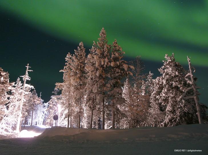 Imágenes de Auroras Boreales tomadas en Laponia 51316-728-542