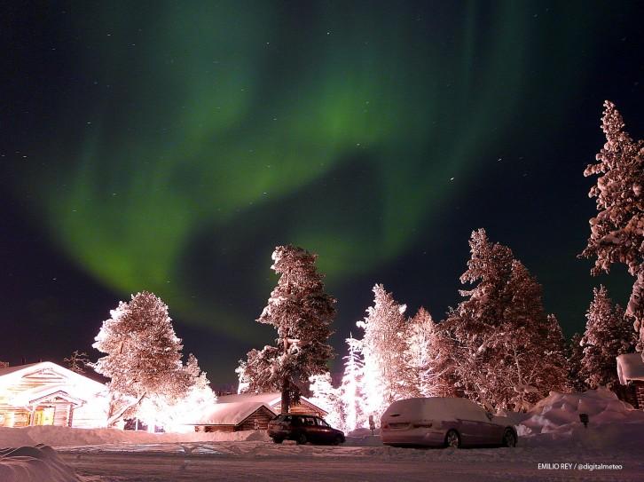 Imágenes de Auroras Boreales tomadas en Laponia 51318-726-543