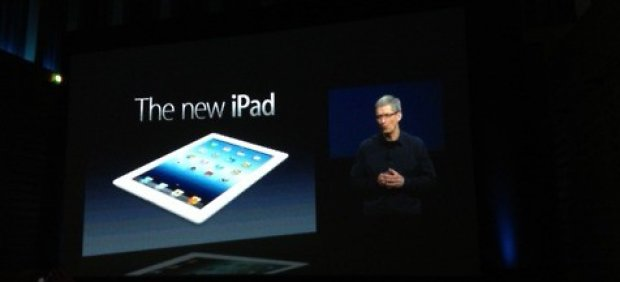 Apple presenta su nuevo iPad