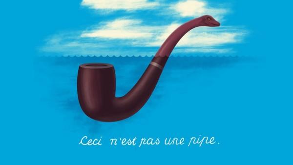 'Ceci n'est pas une   pipe'