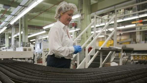 Una mujer trabajadora