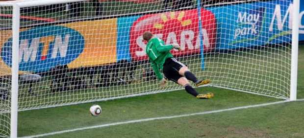 Gol fantasma Alemania - Inglaterra