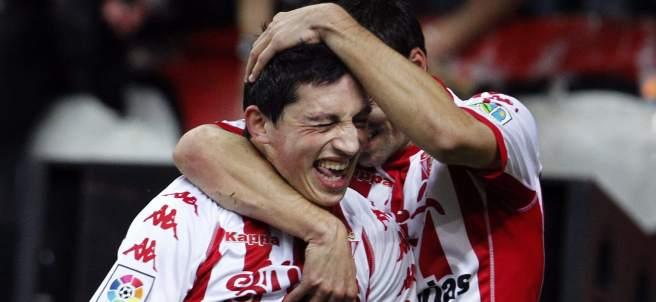 Gol de André Castro con el Sporting