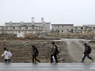 Las huellas del tsunami