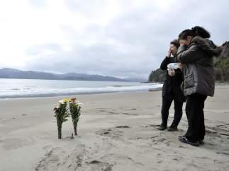 Recuerdo a las víctimas del tsunami
