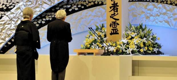 Acto con los emperadores de Jap�n