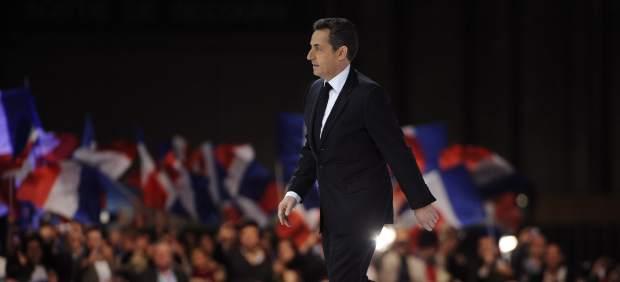 El mitin más concurrido de Sarkozy