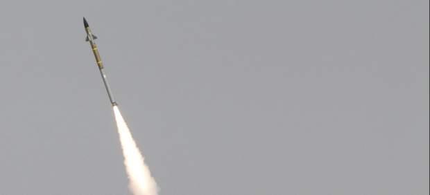 Cruce de misiles en la Franja de Gaza