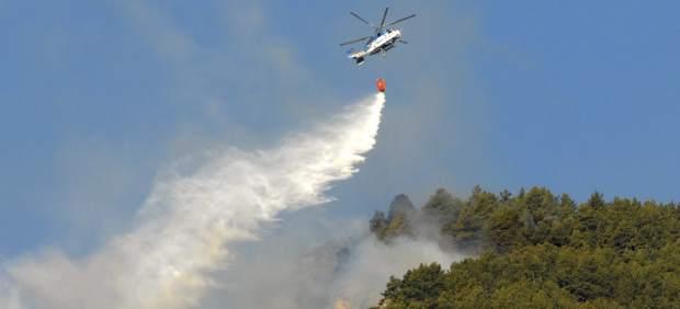 Fuego en Ribagoza