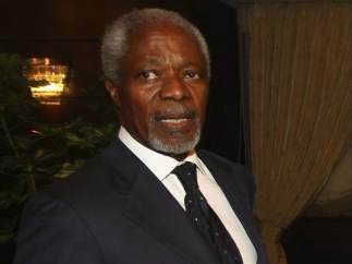 Kofi Annan, en Turquía