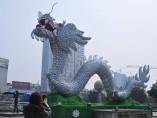 Dragón de porcelana