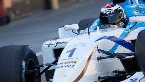 Jorge Lorenzo, en un GP2