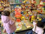 Niños y los juguetes