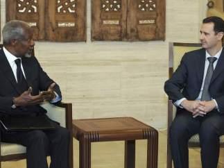 Annan y Al Asad