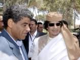 Gadafi y su hombre de confianza