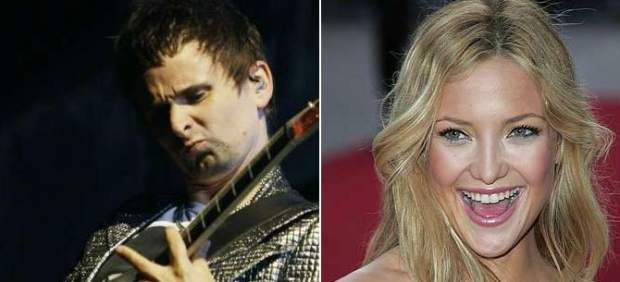 Matt Bellamy y Kate Hudson