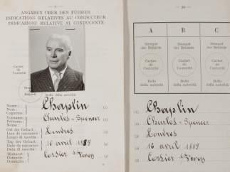 La licencia de conducir de Chaplin