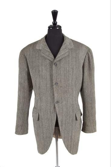 Chaqueta de Clark Gable. La chaqueta que en su día usó el actor de 'Lo que el viento se llevó' Clark Gable se subastará en la venta 'Leyendas de Hollywood'.