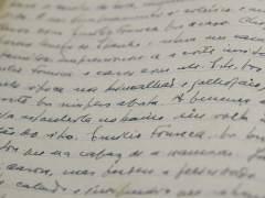 Manuscrito de 'Claraboya', de Saramago