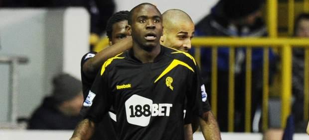 Gol del Bolton con Muamba