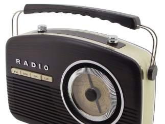 Reproductor de radio de aspecto retro