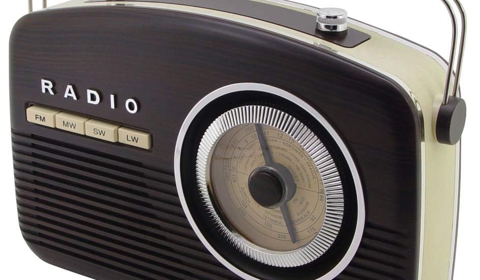 Reproductor de radio de aspecto retro. Los fabricantes han encontrado un nuevo mercado en los productos con aspecto retro.