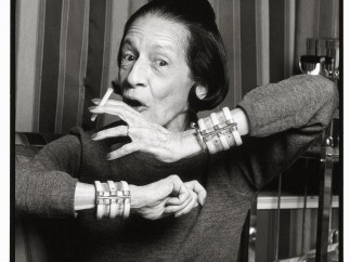 'Diana Vreeland, 1982'