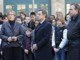 Minuto de silencio en Francia
