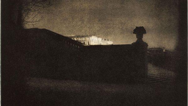 'Nocturne – Orangery Staircase, Versailles', 1908