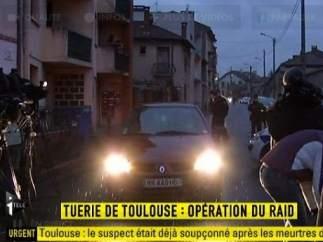 Operación para detener al sospechoso de la matanza de Toulouse