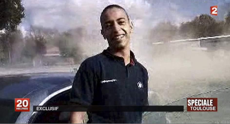 Mohammad Merah. Merah, el sospechoso de matar tres paracaidistas, tres niños y un rabino en Toulouse.