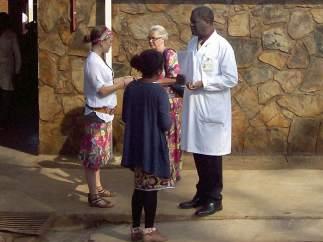 El ginecólogo congoleño Denis Mukwege