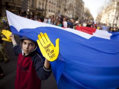 Protesta en Francia contra el racismo