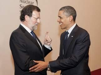 Mariano Rajoy y Obama