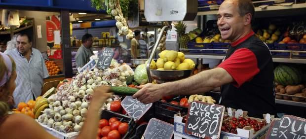 Mercado en Málaga