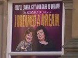 Cartel del musical sobre Susan Boyle