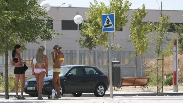 Prostitución en la colonia Marconi