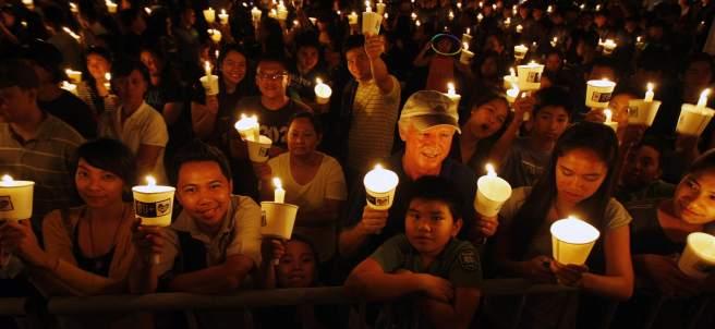La Hora del Planeta en Manila