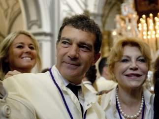 Antonio Banderas y Tita Cervera