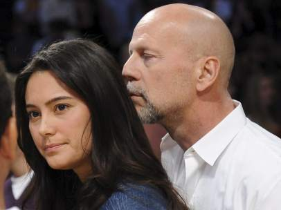 Bruce Willis y Emma Heming