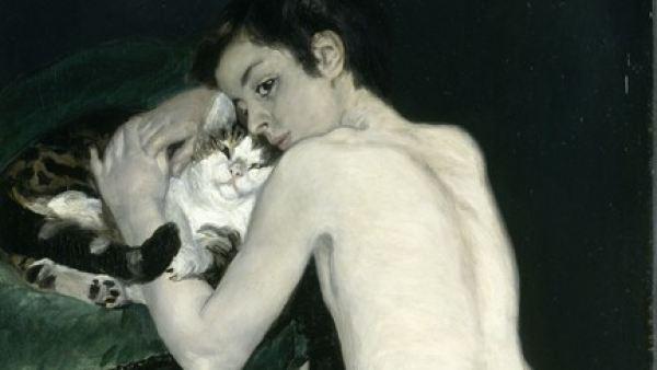 'Le garçon au chat'