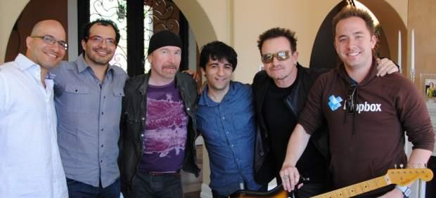Bono y The Edge, de U2, invierten en la plataforma Dropbox