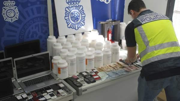 Tráfico de droga.