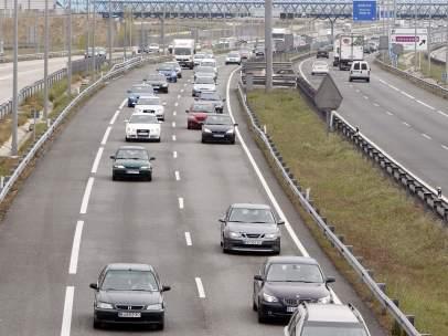 Carretera con retenciones