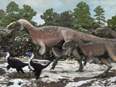 tiranosaurio - Yutyrannus 55217-406-304