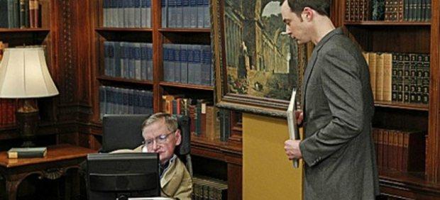 Stephen Hawking en 'TBBT'
